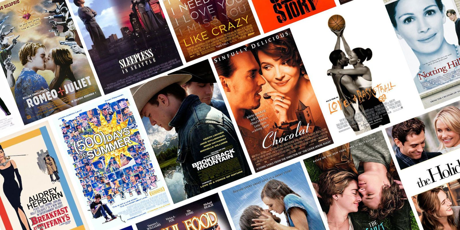 Feel good love movies