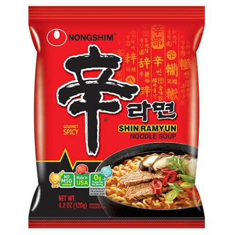 Nongshim Shin Ramyun  Gourmet Spicy Noodle Soup