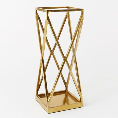 West Elm Geo Umbrella Stand