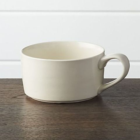 Crate & Barrel Soup Mug