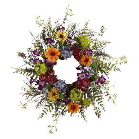 10 Best Spring Wreaths For 2018 Beautiful Flower Wreaths