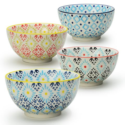 Zipcode Luella 4 Piece Dining Bowl Set