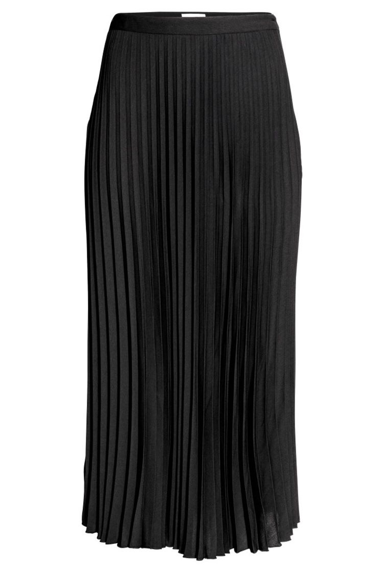 46d3ddde6 11 Best Pleated Midi Skirts for 2018 - Leather, A Line & Black Midi Skirts