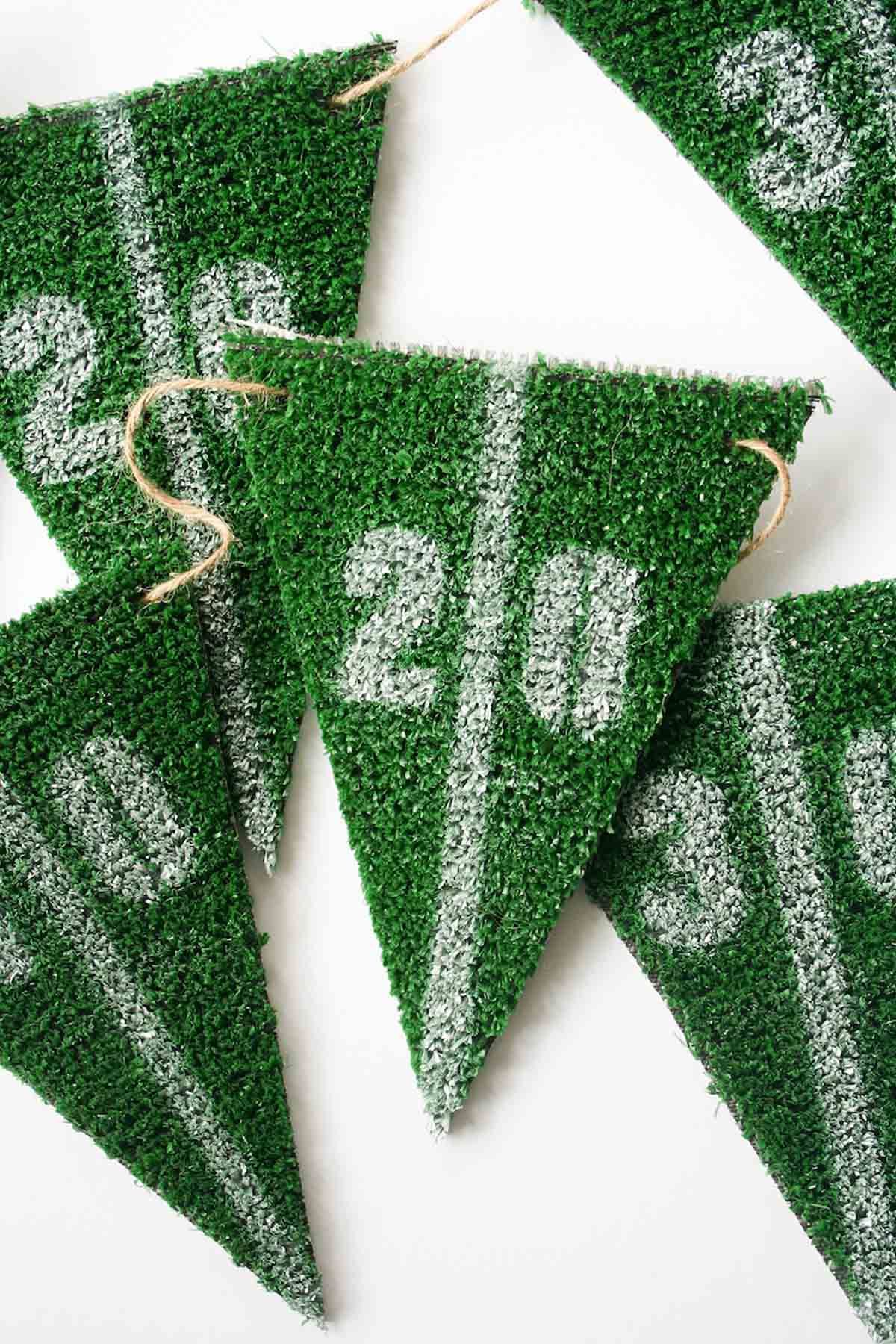 astroturf flag pennants