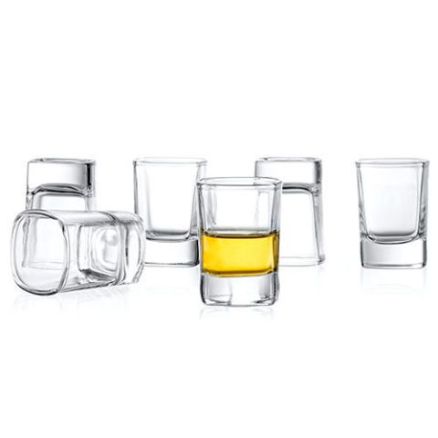 JoyJolt 6-Pack Heavy Base Shot Glass Set