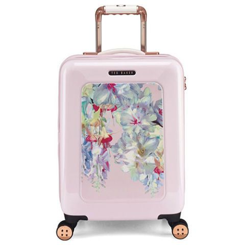ted baker london hanging gardens pink suitcase
