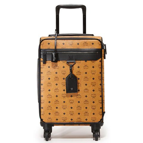 Mcm Nomad Small Visetos Logo Trolley Suitcase