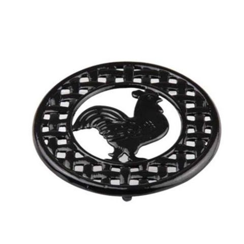 Cast Iron Rooster Trivet by Home Basics