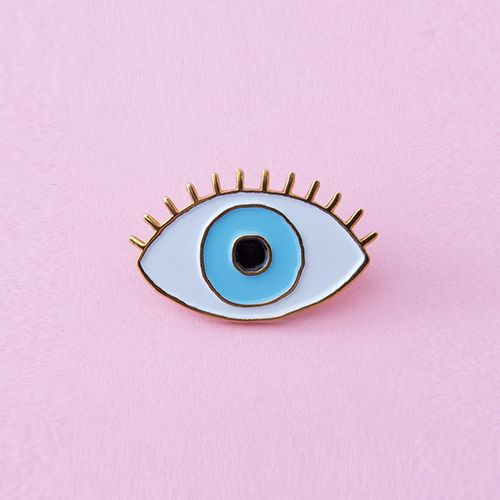 Ban.do Lucky Blue Eye Pin by Cou Cou Suzette