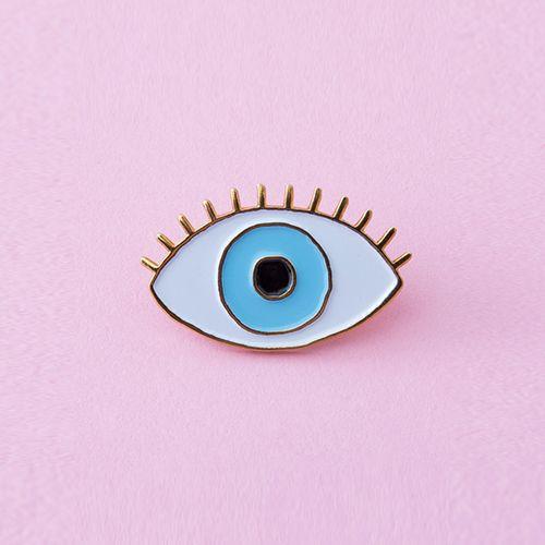 Ban.do Lucky Blue Eye Pin by Cou Cou Suzette