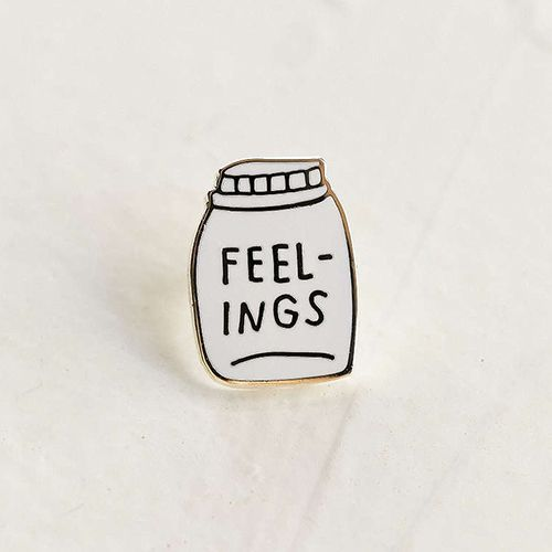 Adam J. Kurtz Bottled Up Feelings Pin