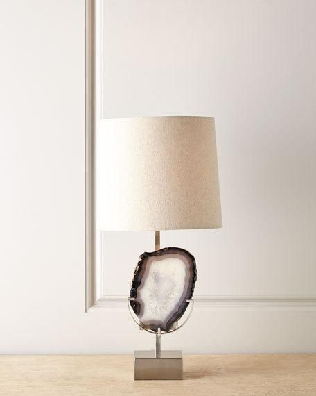 Horchow Agate Table Lamp