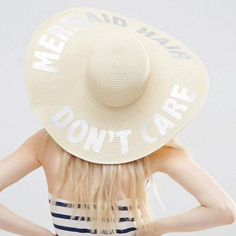 ASOS Oversized Straw Floppy Hat