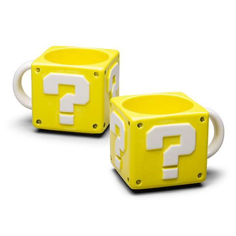 Super Mario 16oz Coin Box Mug