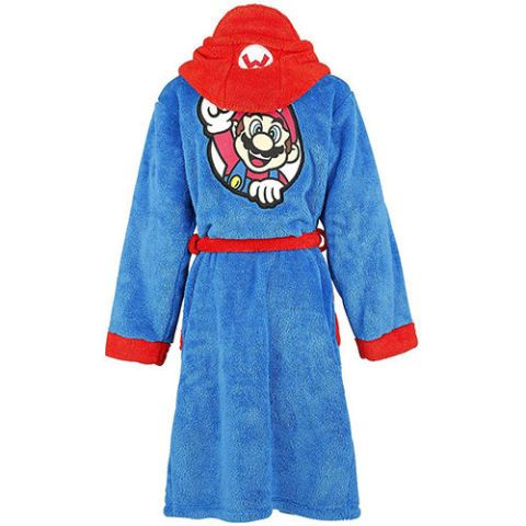 Official Super Mario Bros. Adult Bathrobe