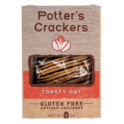 Potter's Organic Gluten-Free Oat Crackers
