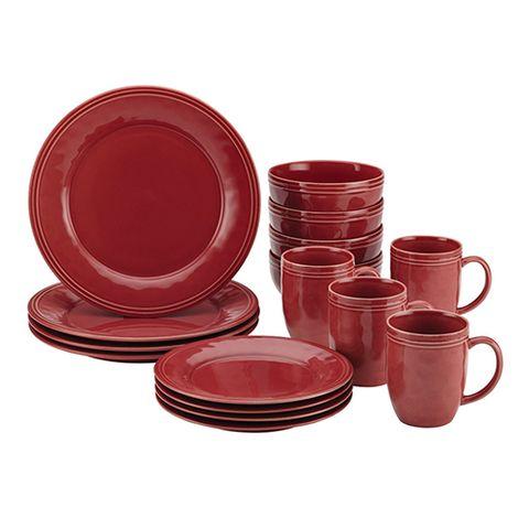 Rachael Ray Cucina 16 Piece Stoneware Dinnerware Set