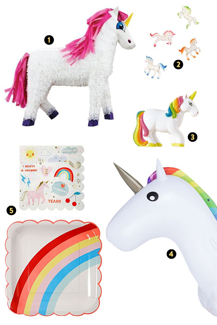 Best Whimsical Theme: Unicorn Magic