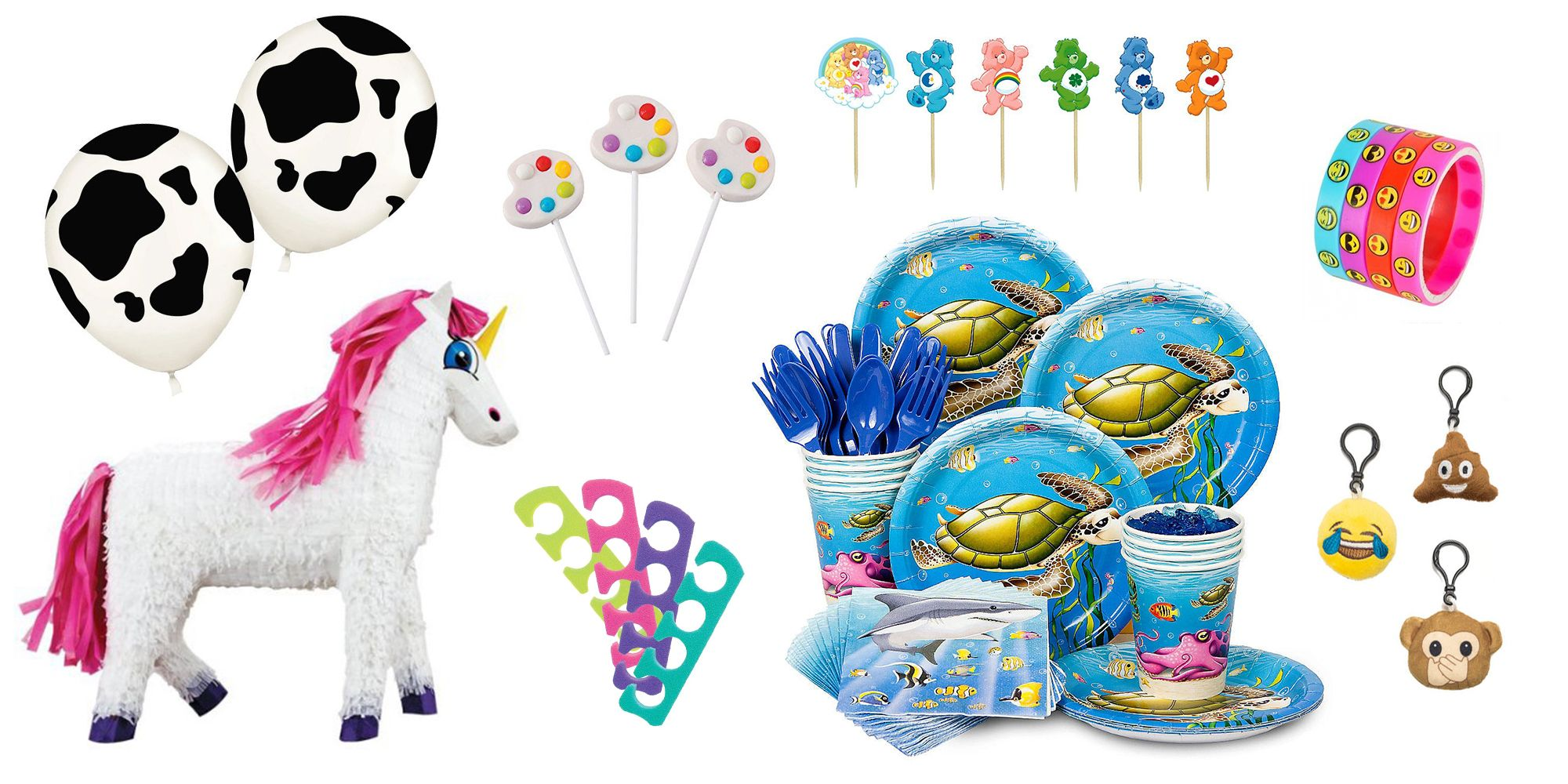 12 Unicorn Paper Cups Kids Birthday Party Accessories Tableware Pony Decorations