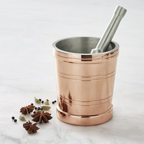 Copper Mortar & Pestle