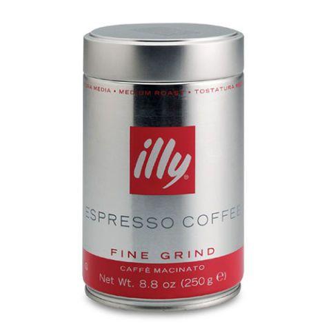 Illy Espresso Medium Roast Finely Ground Coffee