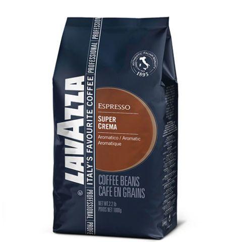 Lavazza Super Crema Espresso Whole Bean Coffee
