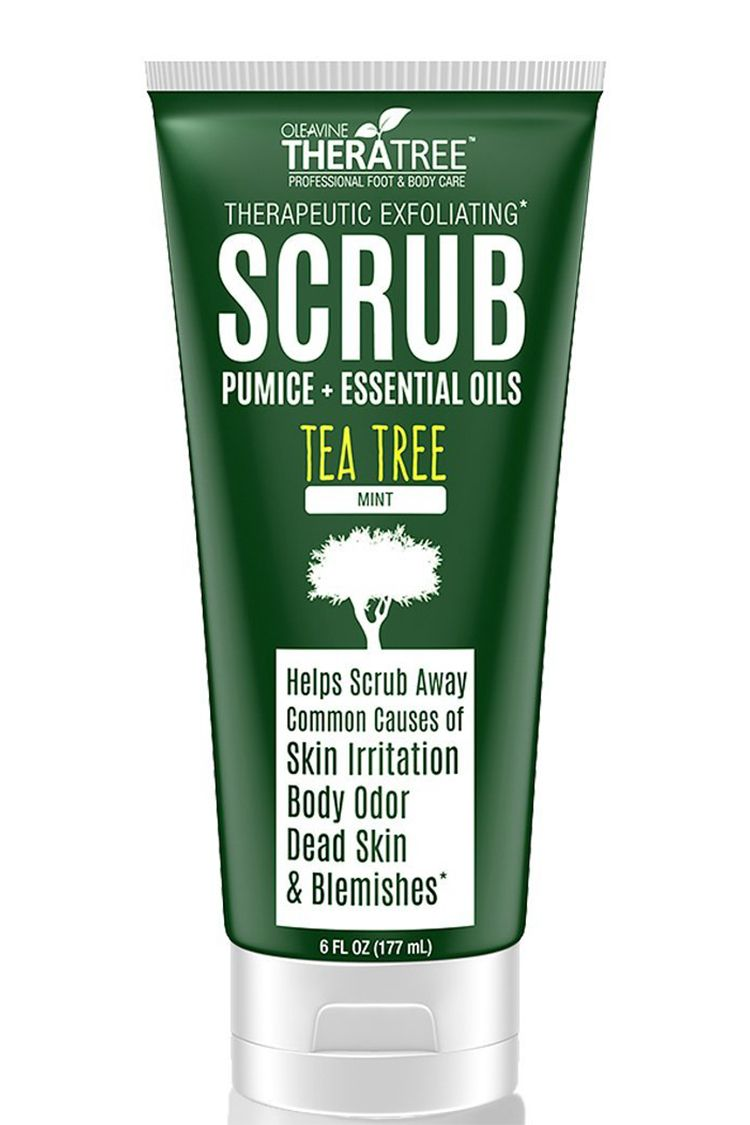Theratree Therapeutic Exfoliating Scrub with Activated Charcoal
