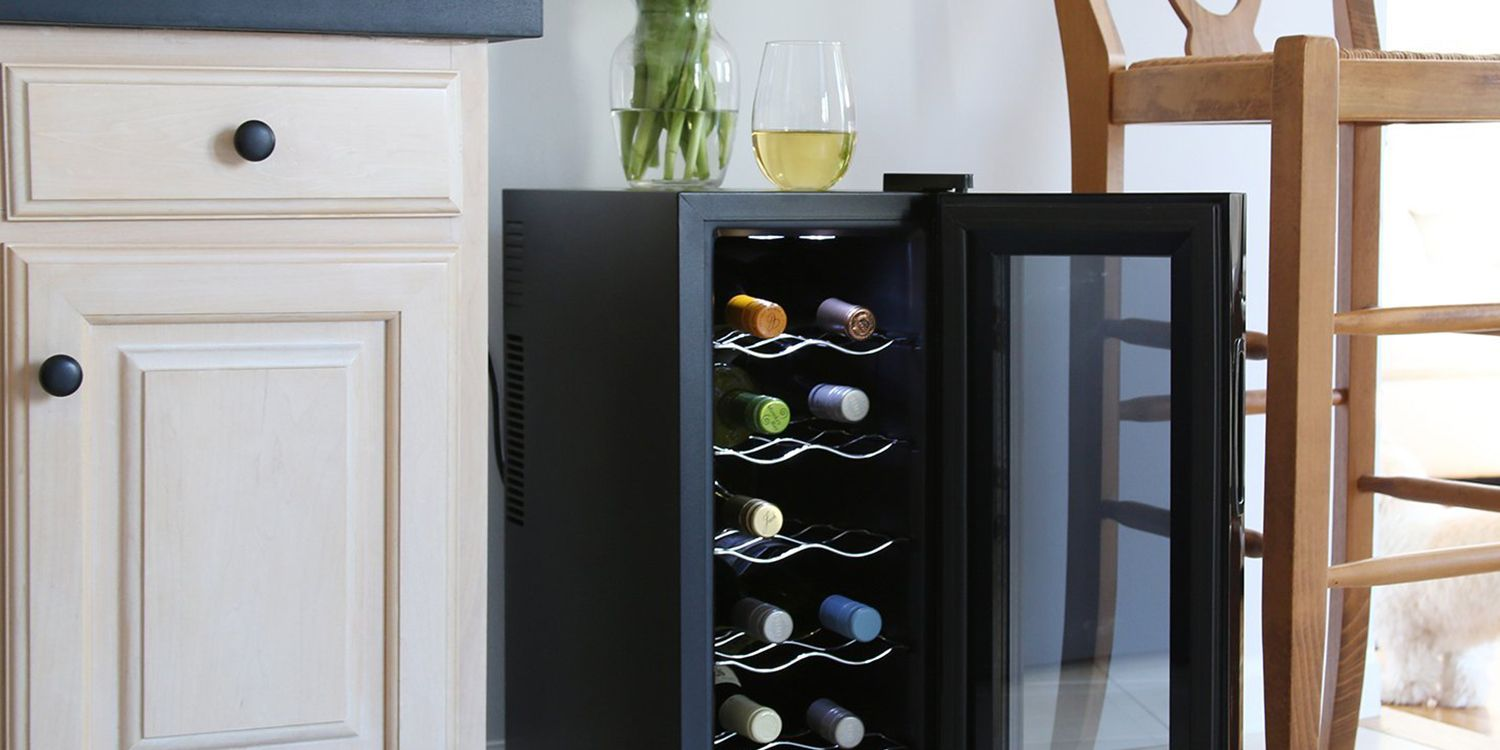 bottle wine counter dp top danby appliances cu ft cooler black countertop