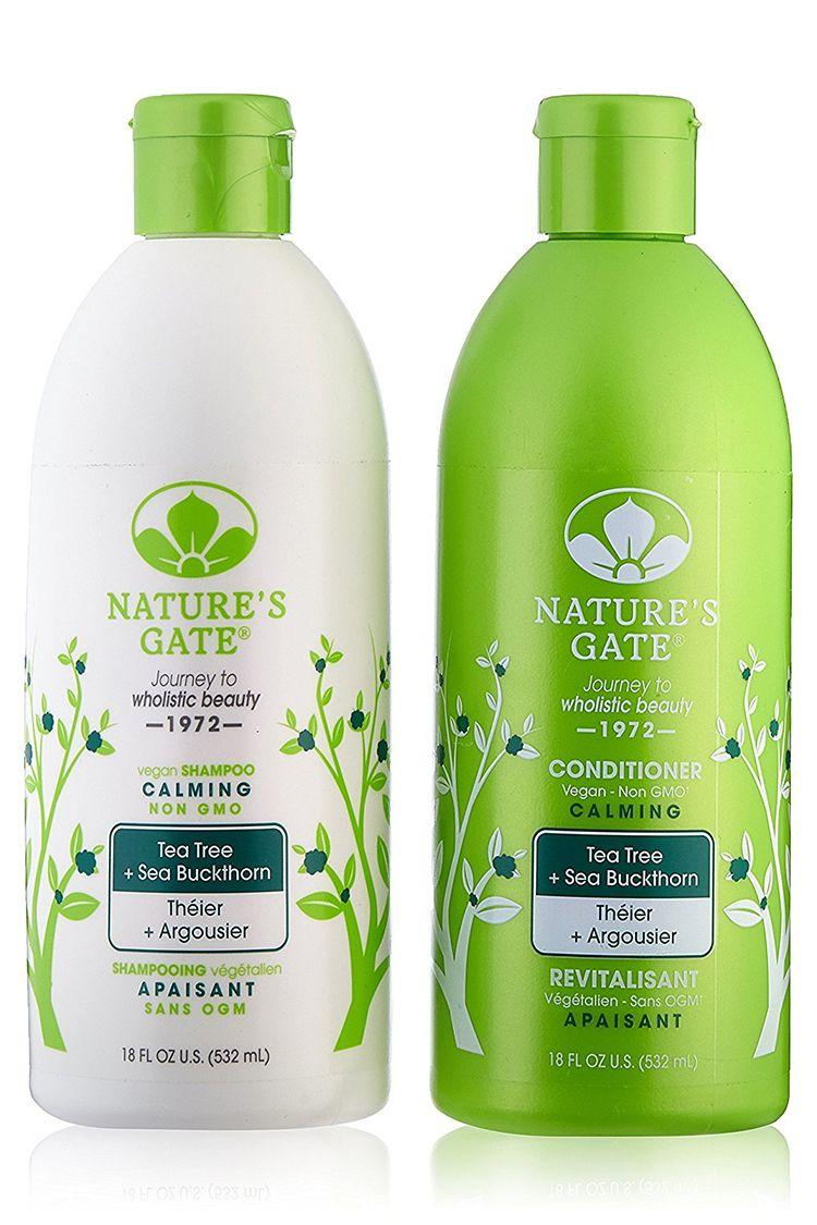 Nature's Gate Tea Tree + Sea Buckhorn Shampoo & Conditioner