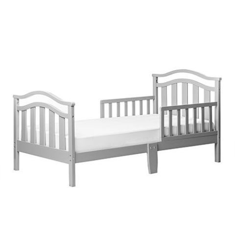 Gray Toddler Bed