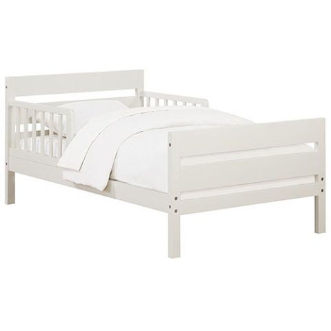 White Bed Toddler