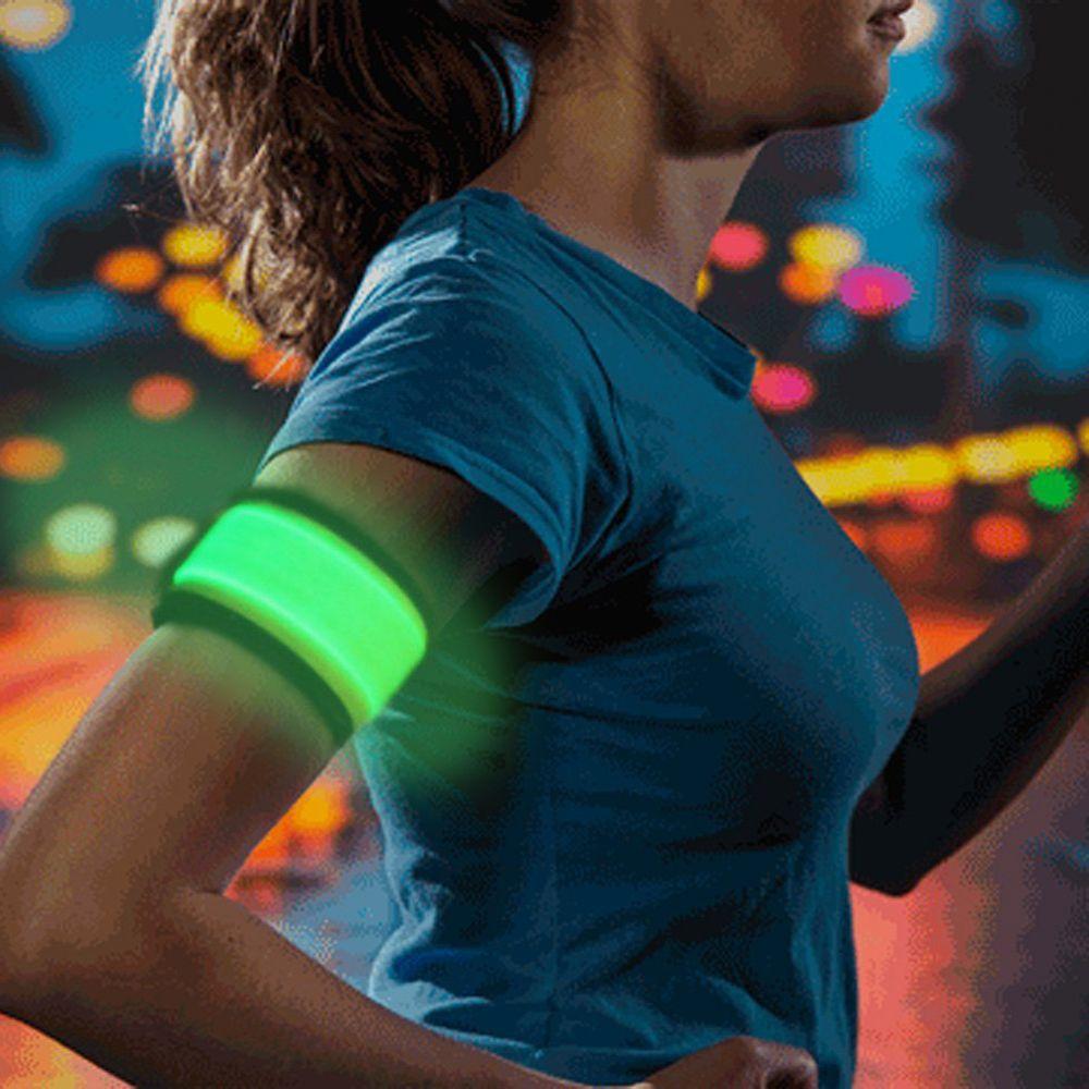 Higo LED Slap Armband running light