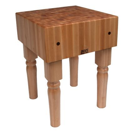 John Boos & Co. Butcher Block Table