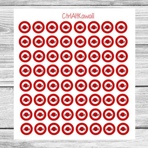 Bullseye Target Shopping Planner Stickers | Passion Planner, Erin Condren,  Happy Planner, Plum Planner, Kikki K, Filofax
