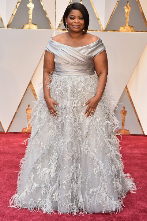 octavia spencer oscars dress 2017