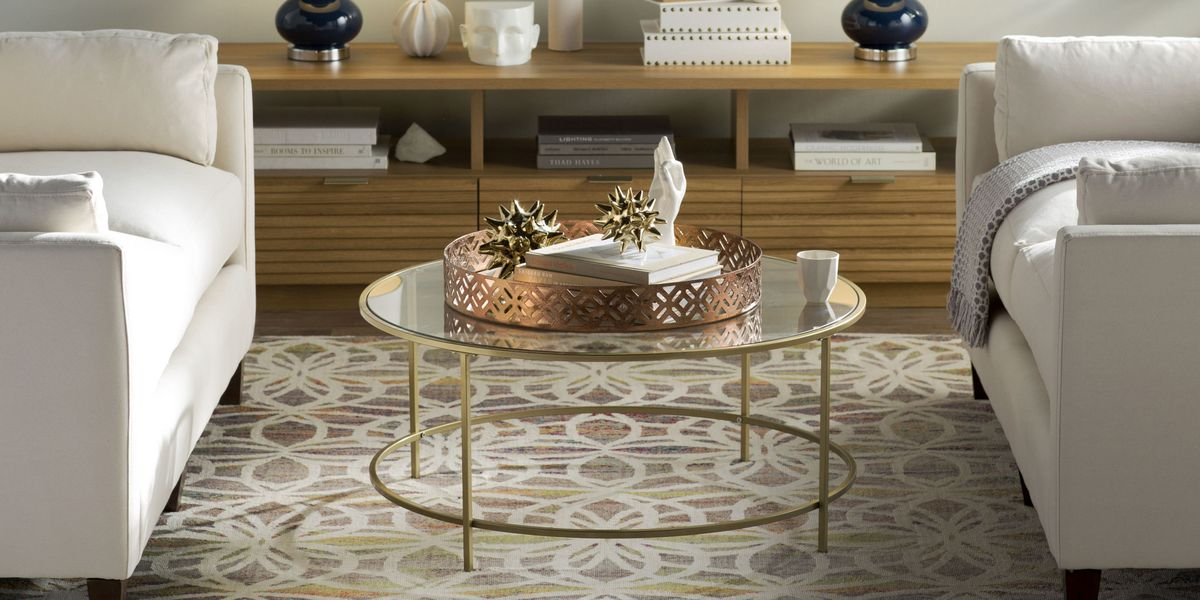 11 Best Glass Coffee Tables for 2019 - Glass Top Coffee Table Reviews