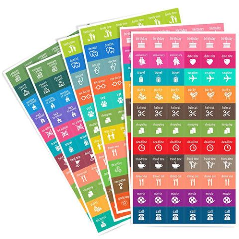 Homework2 Calendar Activity Stickers
