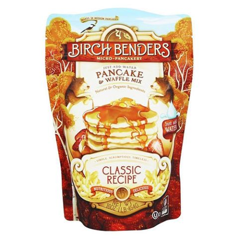 Birch Benders Micro-Pancakery Pancake & Waffle Mix Classic Recipe