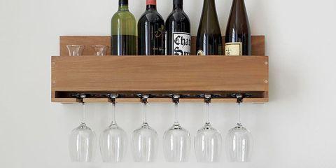 10 Best Wall Mounted Wine Racks In 2018 Wall Wine Bottle Racks