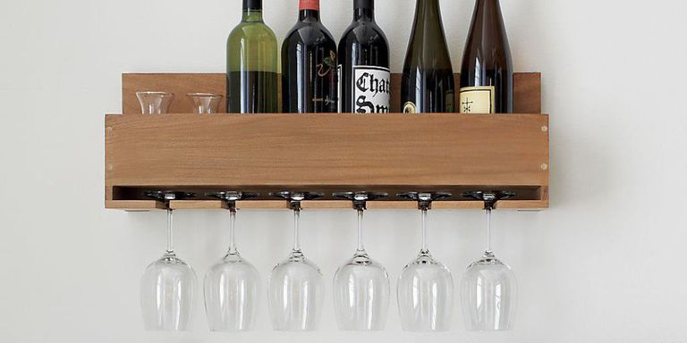 10 Best Wall Mounted Wine Racks in 2018 - Wall Wine Bottle Racks ...
