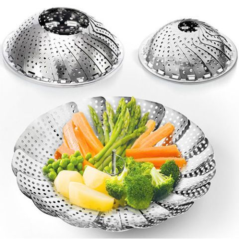 Sensible Needs Two-Pack Vegetable Steamer Basket Set