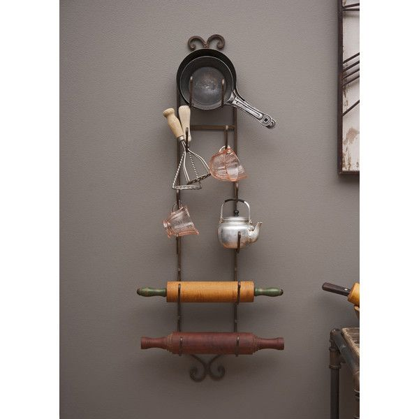 Lark Manor Vallauris 6 Bottle Wall Mounted Wine Rack