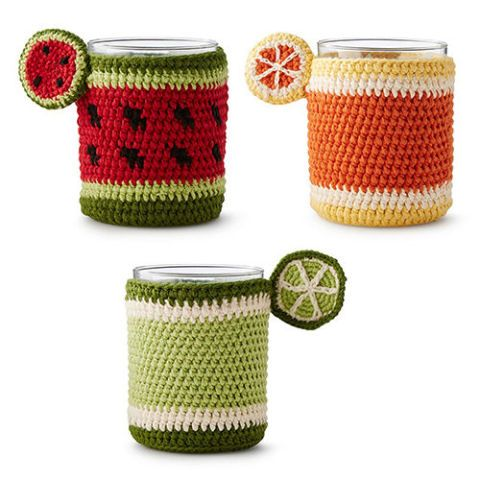 Fruit Glass Koozie