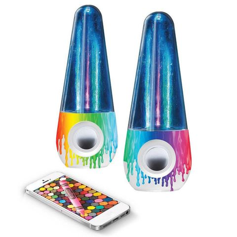 Crayola Bluetooth Dancing Water Speakers
