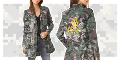 camo jackets