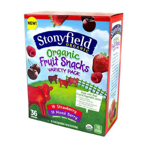 Stonyfield Organic Fruit Snacks Variety Pack