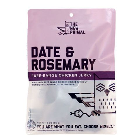 The New Primal Free-Range Date and Rosemary Chicken Jerky