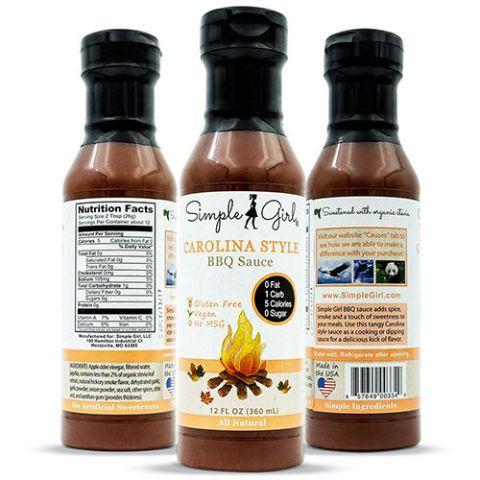 Simple Girl Carolina Style BBQ Sauce