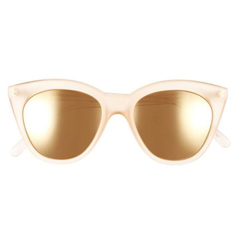 Le Specs Halfmoon Magic' 51mm Cat Eye Sunglasses