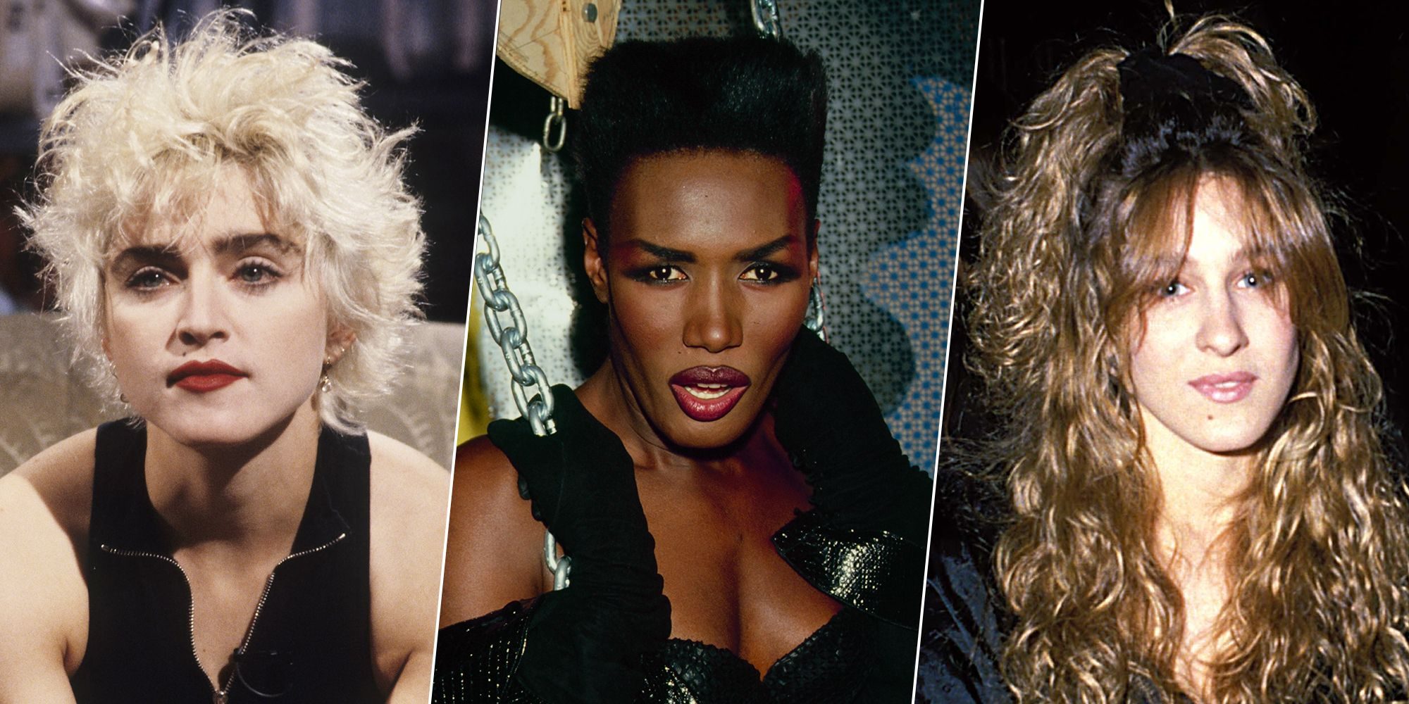 The standard of feminine beauty of the 80s